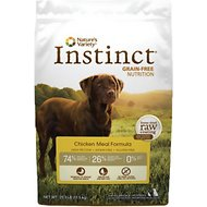 Nature's Variety Instinct Grain-Free Chicken Meal Formula Dry Dog Food, 25.3-lb bag