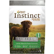 Nature's Variety Instinct Limited Ingredient Diet Lamb Meal & Peas Formula Grain-Free Dry Dog Food, 25.3-lb bag