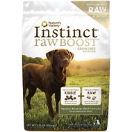 Nature's Variety Instinct Raw Boost Grain-Free Venison & Lamb Meal Formula Dry Dog Food, 23.5-lb bag