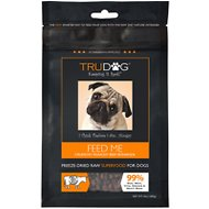 TruDog Feed Me Beef Grain-Free Freeze-Dried Dog Food, 10-oz bag