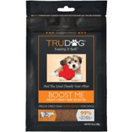 TruDog Boost Me Mighty Meaty Beef Booster Freeze-Dried Raw Dog Food Enhancer, 3.5-oz bag