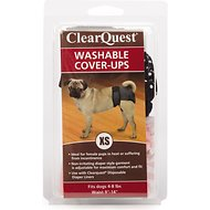 ClearQuest Washable Dog Cover-Up, X-Small