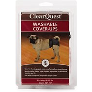ClearQuest Washable Dog Cover-Up, Small