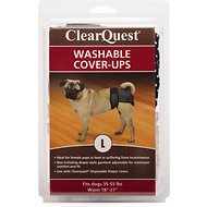 ClearQuest Washable Dog Cover-Up, Large