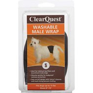 ClearQuest Washable Male Wrap for Dogs, Small
