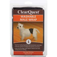 ClearQuest Washable Male Dog Wrap, Large