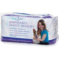 ClearQuest Disposable Doggy Diapers, Mini