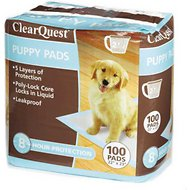 ClearQuest Puppy Pads, 100 count