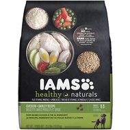 Iams Healthy Naturals Chicken & Barley Recipe Adult Dry Dog Food, 23.2-lb bag