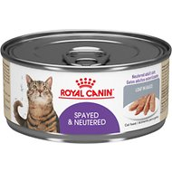 Royal Canin Spayed/Neutered Loaf in Sauce Canned Cat Food, 5.8-oz, case of 24