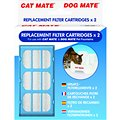 Cat Mate Replacement Filter Cartridges for Cat Mate and Dog Mate Fountains