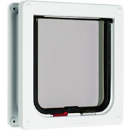 Cat Mate Lockable Cat Flap/Door with Door Liner, White
