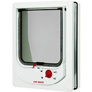 Cat Mate Electromagnetic Cat Flap, White