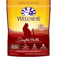 Wellness Complete Health Senior Health Deboned Chicken & Chicken Meal Recipe Dry Cat Food, 5.9-lb bag