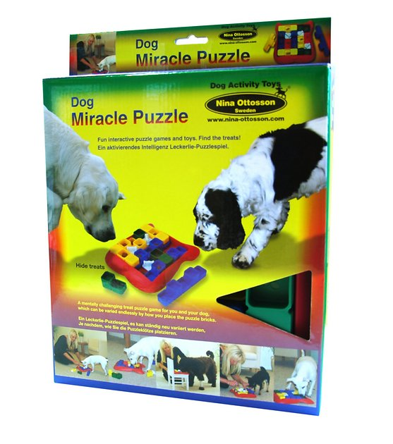 Nina Ottosson Dog Miracle Puzzle Dog Toy Chewy Com