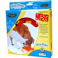 Nina Ottosson Dog MixMax Puzzle Plastic Interactive Dog Toy, Medium