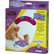 Nina Ottosson Cat MixMax Puzzle Plastic Interactive Cat Toy, Easy