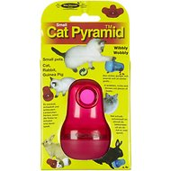 Nina Ottosson CatPyramid Plastic Interactive Cat Toy, Color Varies