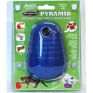 Nina Ottosson DogPyramid Plastic Interactive Dog Toy, Color Varies, Small