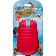 Nina Ottosson DogPyramid Plastic Interactive Dog Toy, Color Varies, Large