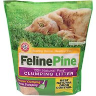 Feline Pine Scoop Clumping Cat Litter, 8-lb bag