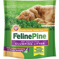 Feline Pine Scoop Clumping Cat Litter, 14-lb bag