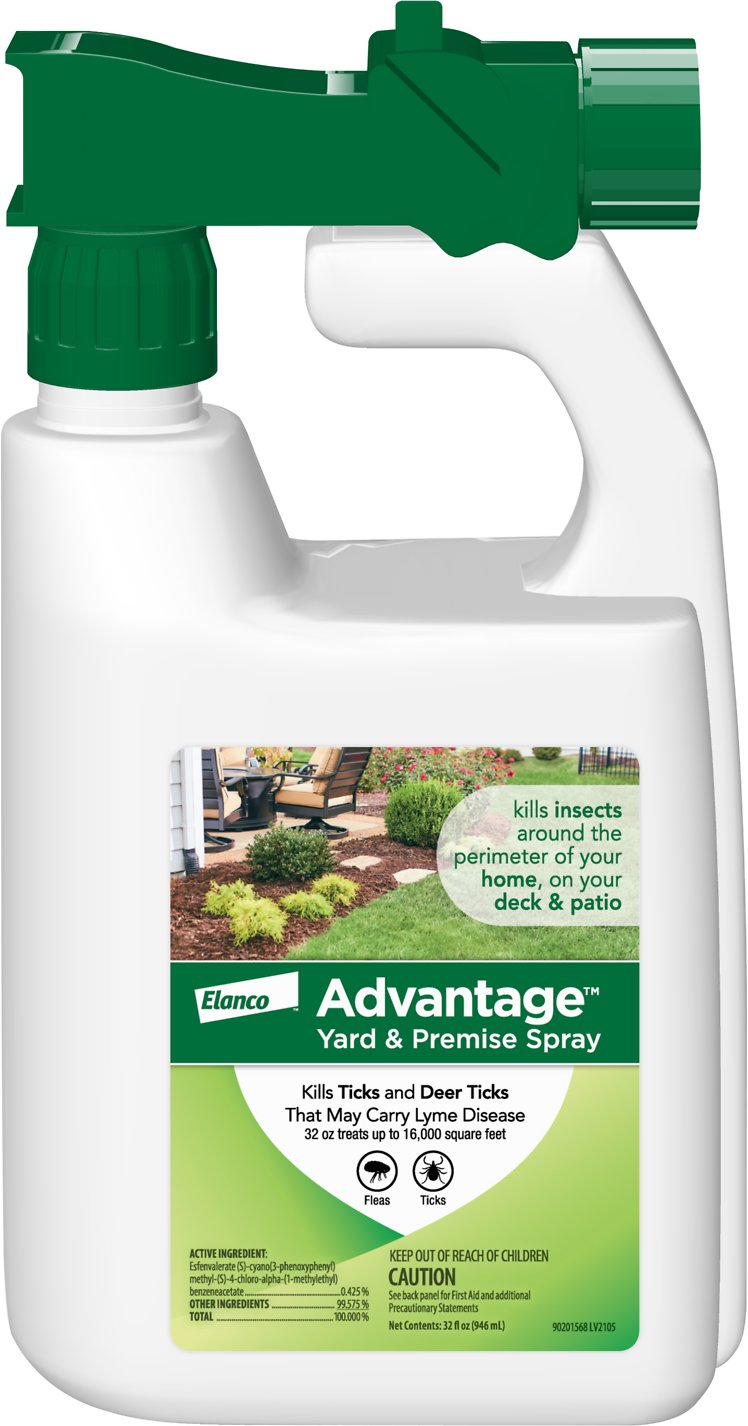 advantage ii yard u0026 premise spray 32 oz hose end spray chewy com