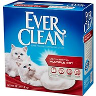 Ever Clean Multi-Cat Clumping Cat Litter, 25-lb box