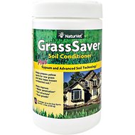 NaturVet GrassSaver Gypsum Soil Conditioner, 1.5-lb bottle