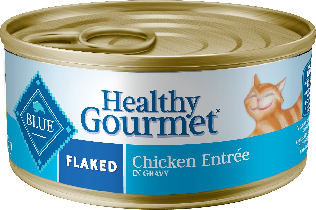 Blue Buffalo Healthy Gourmet Flaked Chicken Entree In