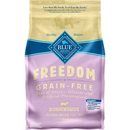 Blue Buffalo Freedom Indoor Kitten Chicken Recipe Grain-Free Dry Cat Food, 5-lb bag