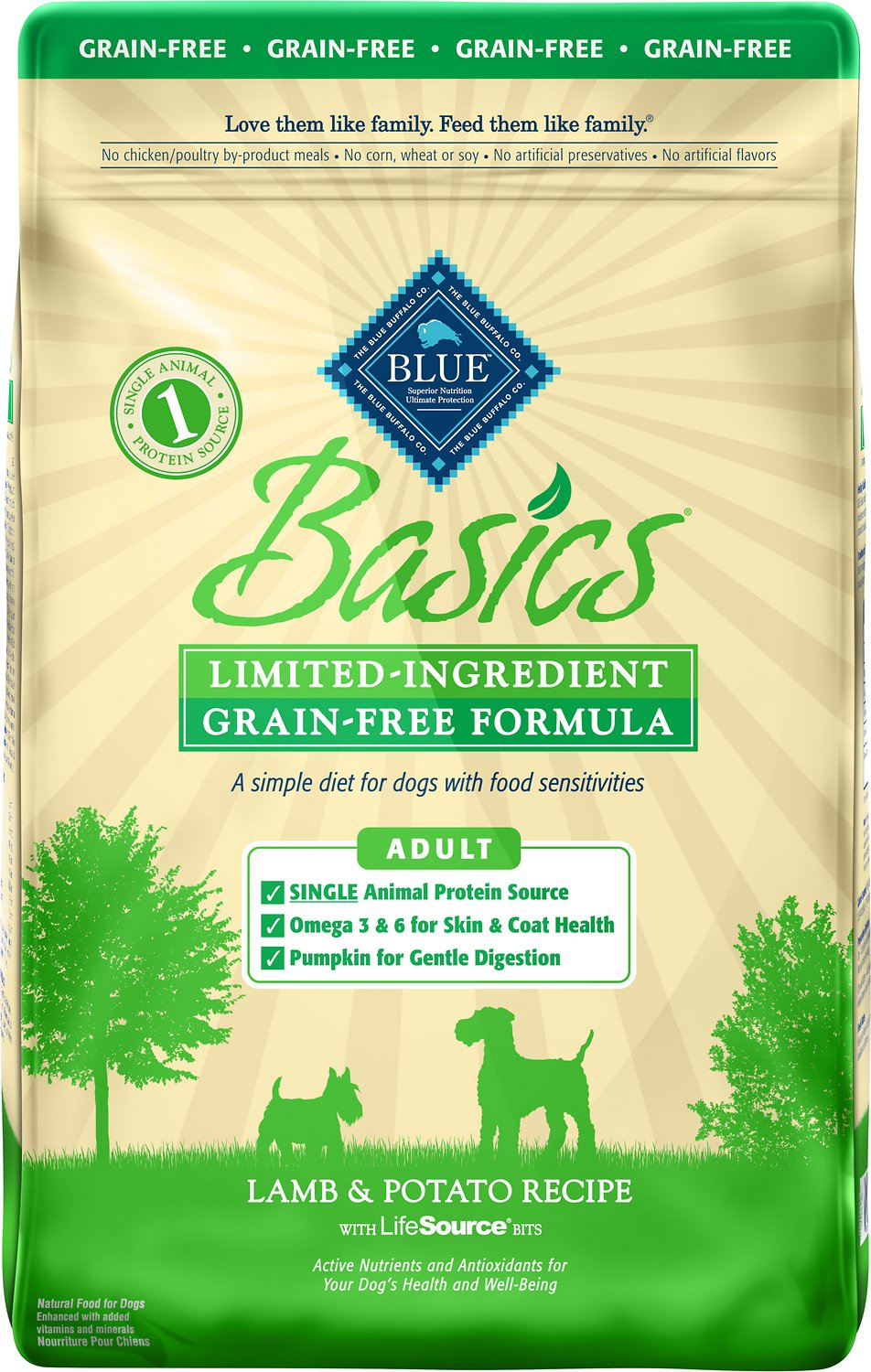 Blue Buffalo Basics Limited Ingredient Grain Free Formula