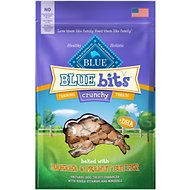 Blue Buffalo Blue Bits Banana & Peanut Butter Crunchy Training Dog Treats, 3-oz bag