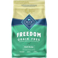 Blue Buffalo Freedom Adult Lamb Recipe Grain-Free Dry Dog Food, 4-lb bag