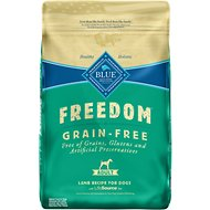 Blue Buffalo Freedom Adult Lamb Recipe Grain-Free Dry Dog Food, 24-lb