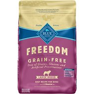 Blue Buffalo Freedom Large Breed Adult Beef Recipe Grain-Free Dry Dog Food, 24-lb bag