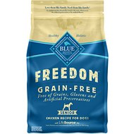 Blue Buffalo Freedom Senior Chicken Recipe Grain-Free Dry Dog Food, 4-lb bag