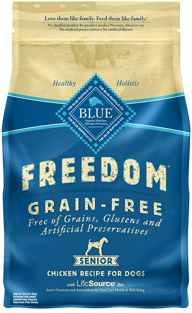 Blue Freedom Dry Dog Food  Lb
