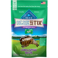 Blue Buffalo Blue Mini Stix Lamb & Apples Recipe Dog Treats, 4-oz bag