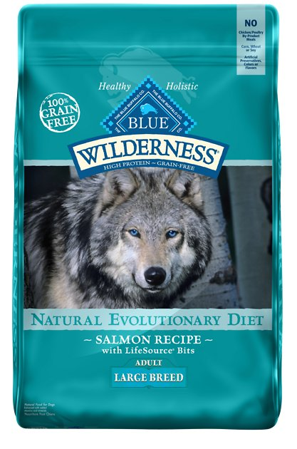 Lb Blue Buffalo Large Breed Salmon Dog Food