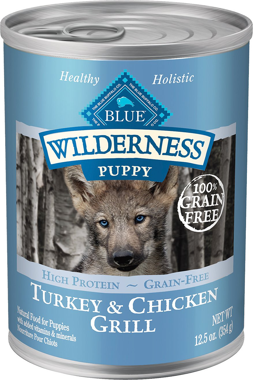 Blue Buffalo Wilderness Turkey Chicken Grill Grain Free Puppy