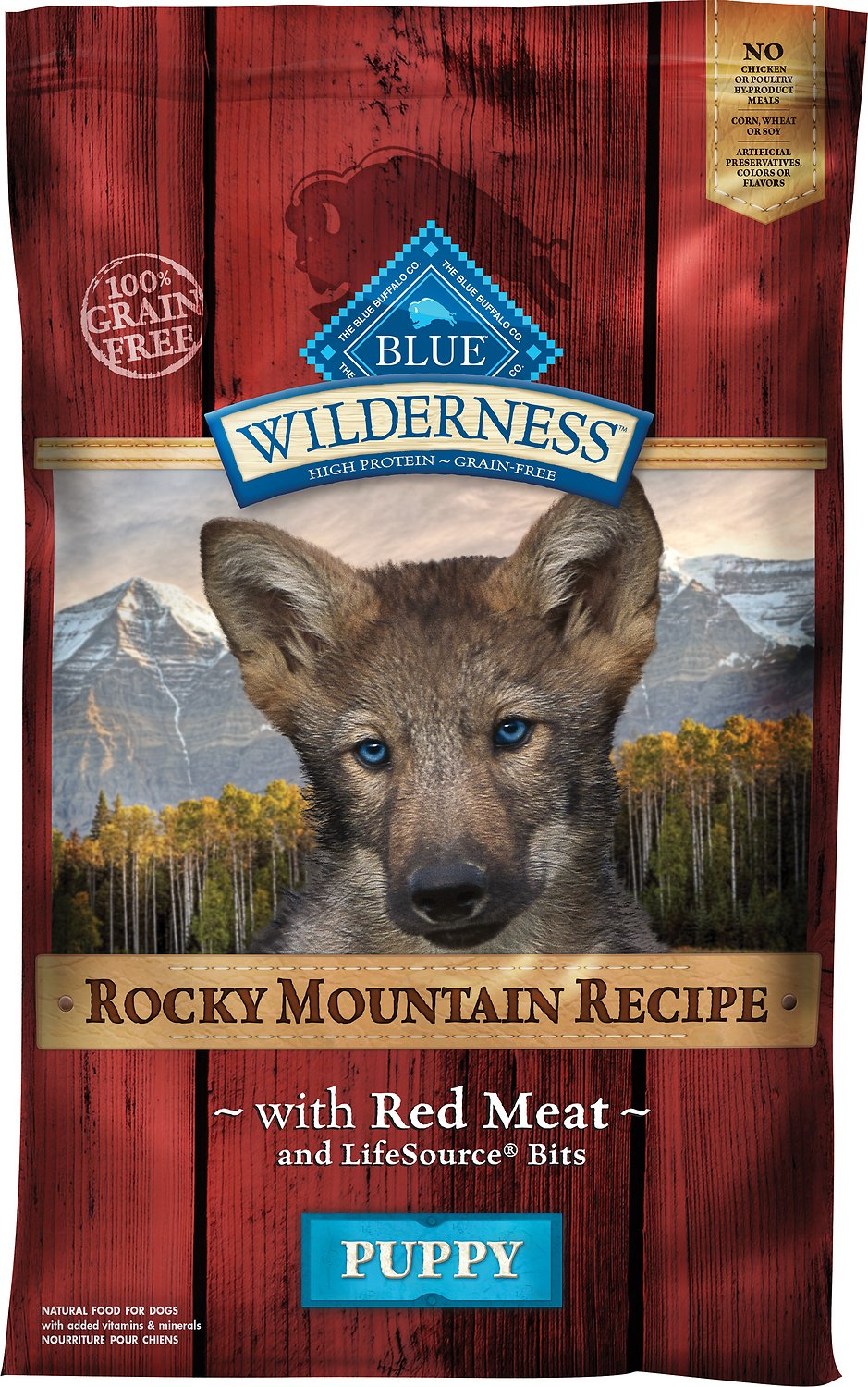 Blue Buffalo Wilderness Rocky Mountain Recipe With Red