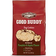Castor & Pollux Good Buddy Pumpkin & Apple Flavor Cookies Dog Treats, 16-oz bag