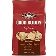 Castor & Pollux Good Buddy Peanut Butter Flavor Cookies Dog Treats, 16-oz bag