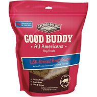 Castor & Pollux Good Buddy All Americans Beef Recipe Grain-Free Dog Treats, 6-oz bag