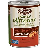 Castor & Pollux Natural Ultramix Real Sweet Potato Ultrablend Supplement Canned Dog & Cat Food, 12.7-oz, case of 12
