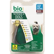 Bio Spot Active Care Flea & Tick Spot On for Dogs, 5-14 lbs, 3 treatments