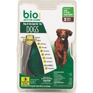Bio Spot Active Care Flea & Tick Spot On for Dogs, 31-60 lbs, 3 treatments