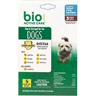 Bio Spot Active Care Flea & Tick Spot On Refill for Dogs (3 Treatments), 5-14 lbs