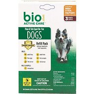 Bio Spot Active Care Flea & Tick Spot On Refill for Dogs (3 Treatments), 15-30 lbs